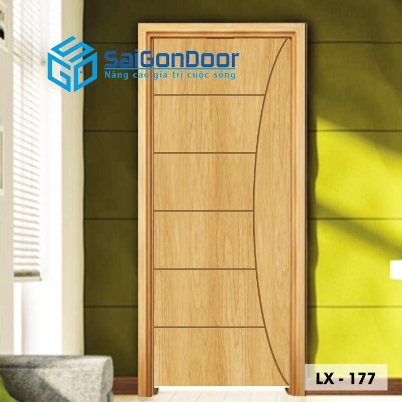 Cửa nhựa gỗ Sungyu cho không gian sống gần gũi, tinh tế